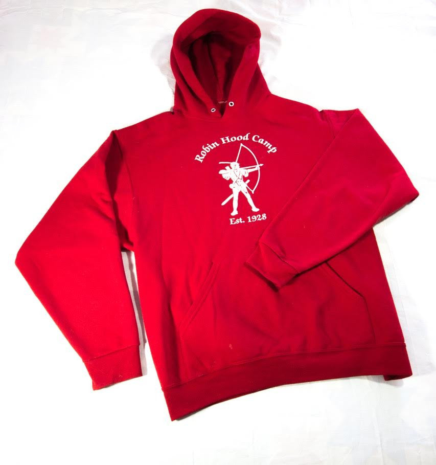 5 Year Lifer Red Hooded Sweatshirt