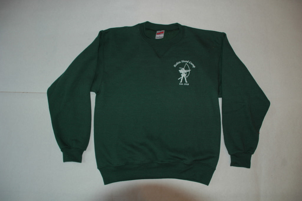 Green Crew Sweatshirt