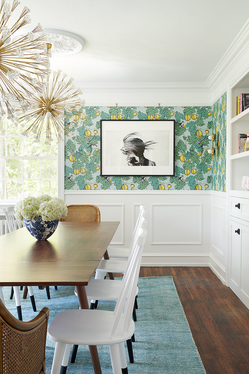 Michelle Gage Interiors, Philadelphia, Dining Room, Interior Design, Rebecca McAlpin