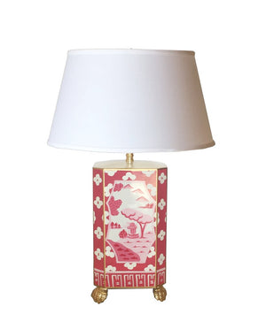 Canton Lamp with Shade
