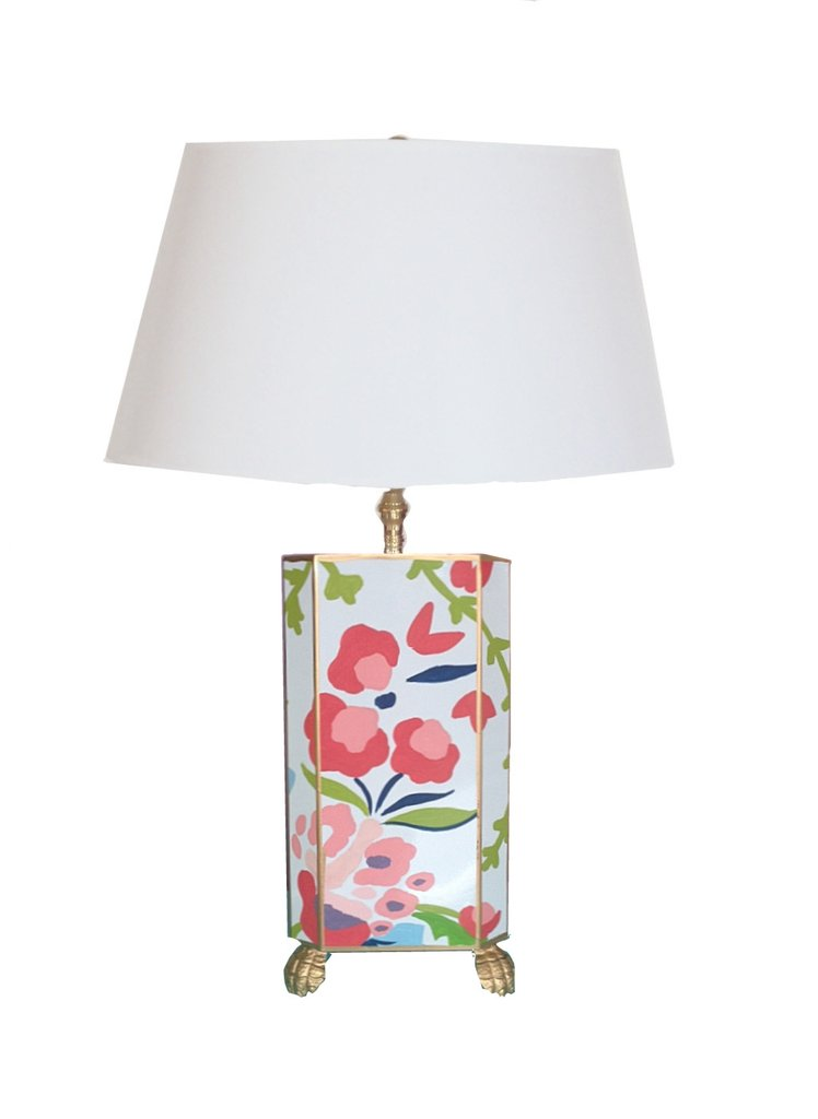 Small Chintz Lamp