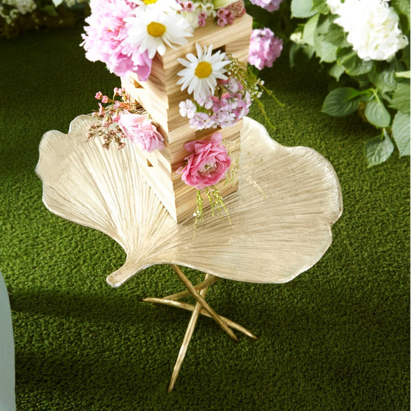 Fantasia Frond Table, Cyan Designs