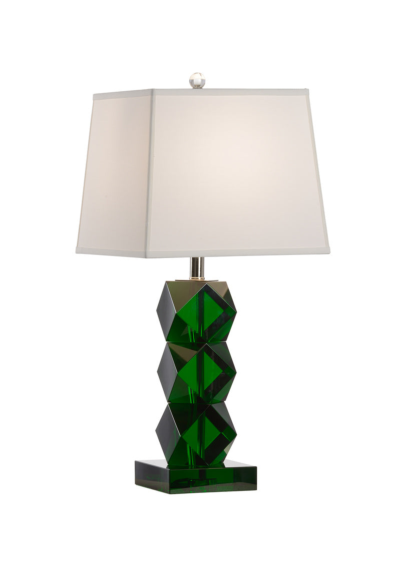 Emerald Crystal Lamp, Wildwood, Dashing Trappings