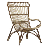 Monet Chair, Sika, Antique Finish, Rattan, Dashing Trappings