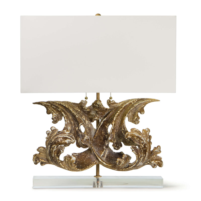 Scroll Table Lamp by Regina Andrew - Dashing Trappings