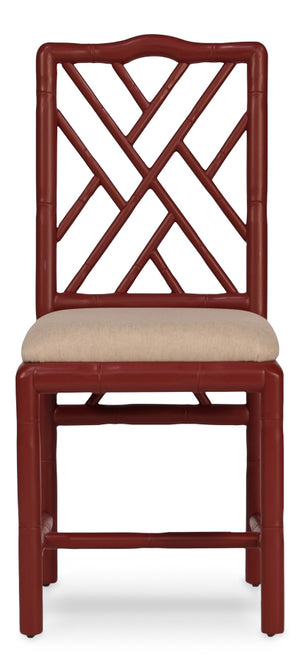 Brighton Bamboo Side Chairs (priced for 2 chairs) - Dashing Trappings