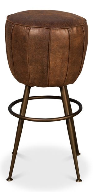 Pouf Barstool - Dashing Trappings