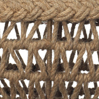 Jute Macrame Chandelier, Jamie Young, Dashing Trappings