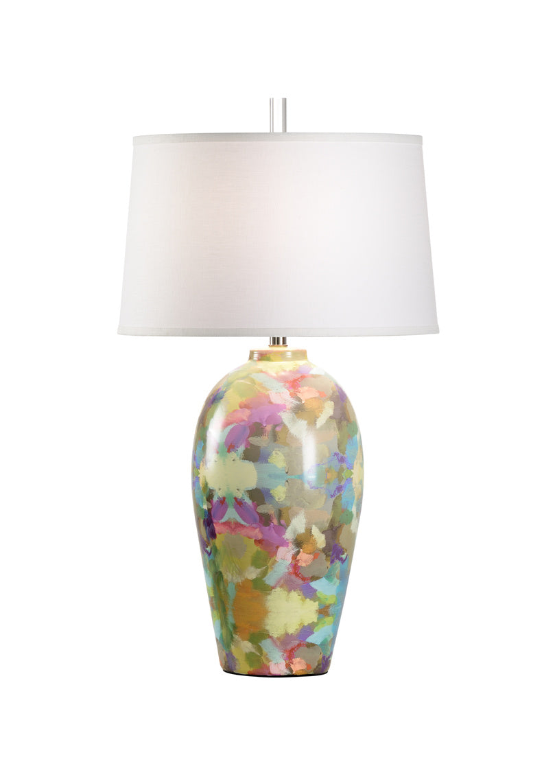 Indigo Girl Lamp II - Blue, Wildwood, Laura Park Designs, Dashing Trappings