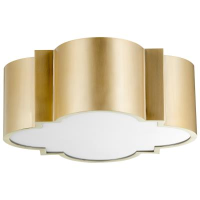 Wyatt  2 light Ceiling Mount - Dashing Trappings