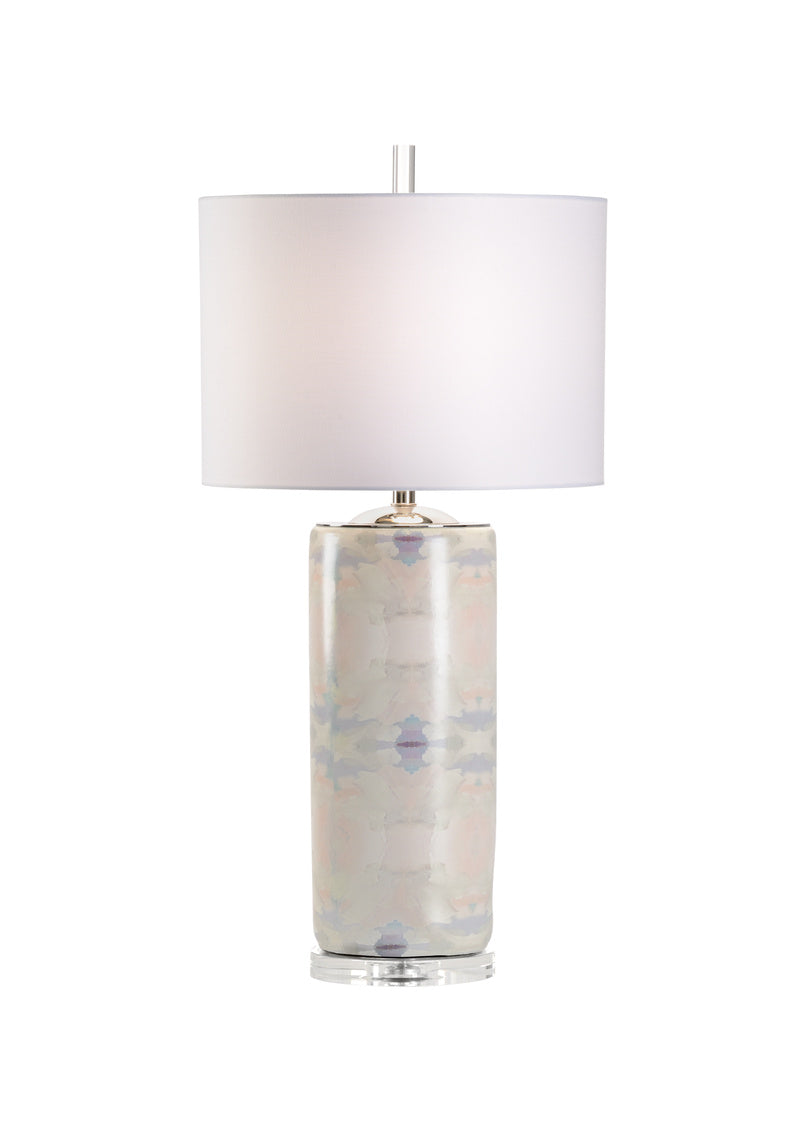Coral Bay Lamp - Pale Blue, Wildwood, Laura Park Designs, Dashing Trappings