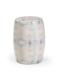 Coral Bay Garden Seat - Blue, Wildwood, Laura Park Designs, Dashing Trappings