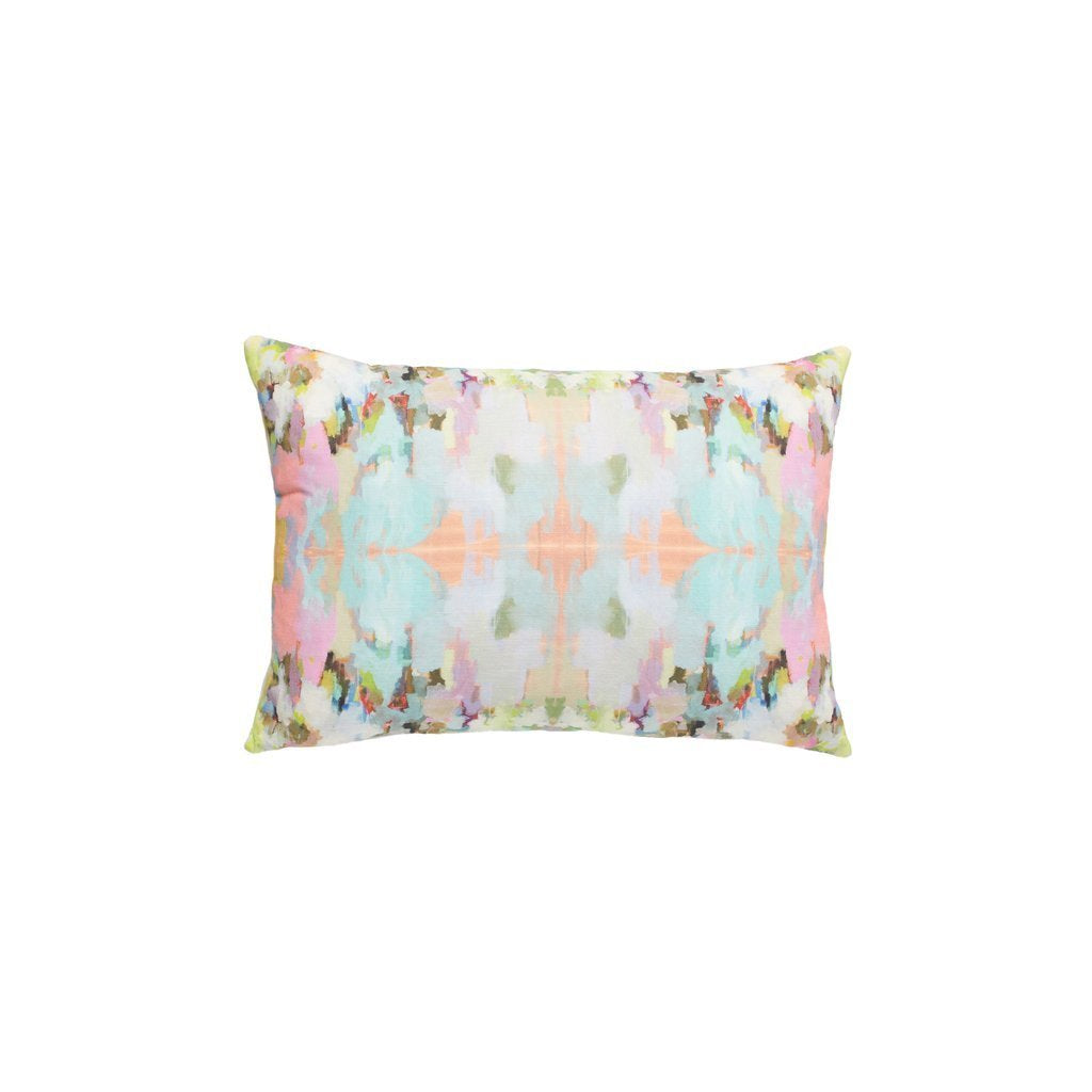 Brooks Avenue Sunbrella Pillow, Lumbar, Laura Park Designs, Dashing Trappings