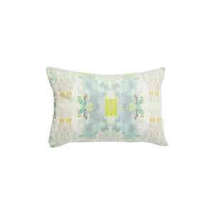 Coral Bay Green Sunbrella Pillow, Laura Park Designs, Lumbar, Dashing Trappings