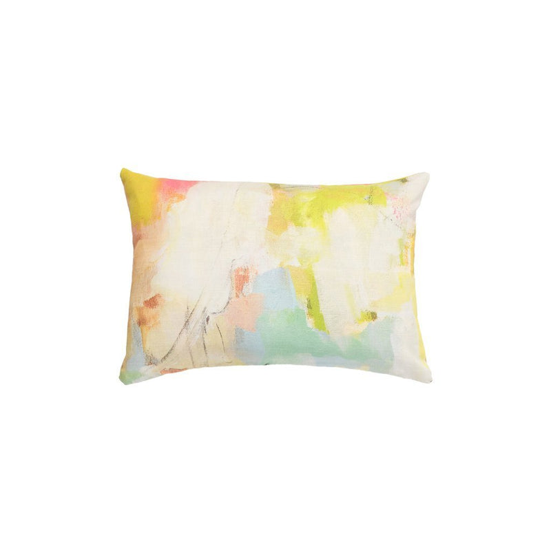 Coral Bay Orange Sunbrella Pillow, Laura Park Designs, Dashing Trappings, Lumbar