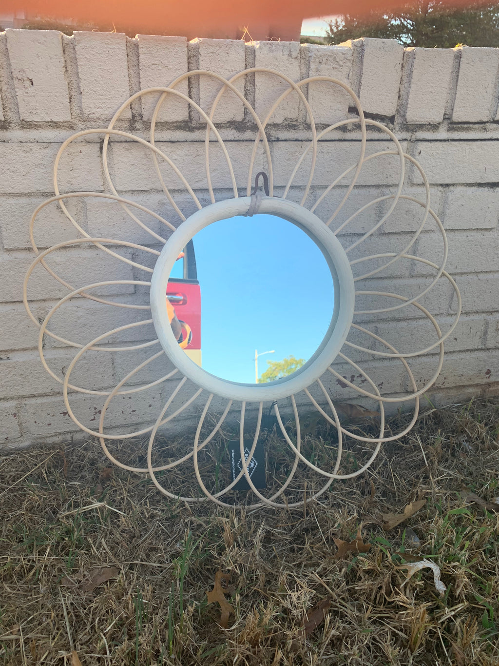 Large Flower Mirror - Dashing Trappings