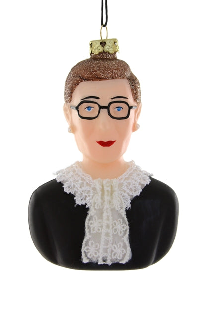 RUTH BADER GINSBURG, Cody Foster, Christmas Ornament, RBG