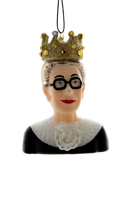 RUTH BADER GINSBURG, Cody Foster, Christmas Ornament,The Notorious RBG