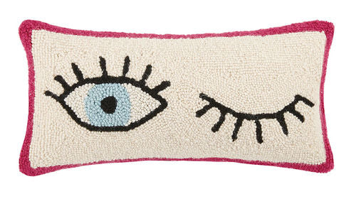 Wink Wink Hook Pillow - Dashing Trappings