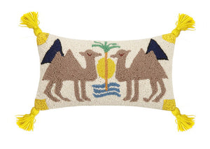 Camel Pillow - Dashing Trappings