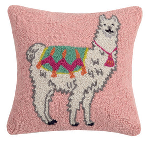 Llama New Festival Hook Pillow - Dashing Trappings