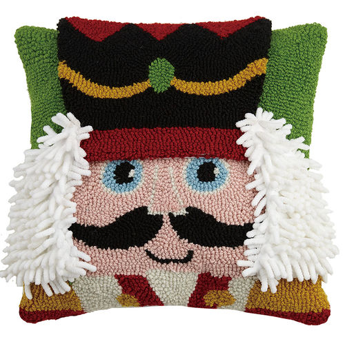 Nutcracker Face Hook Pillow - Dashing Trappings