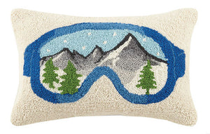 Ski Goggles Hook Pillow - Dashing Trappings