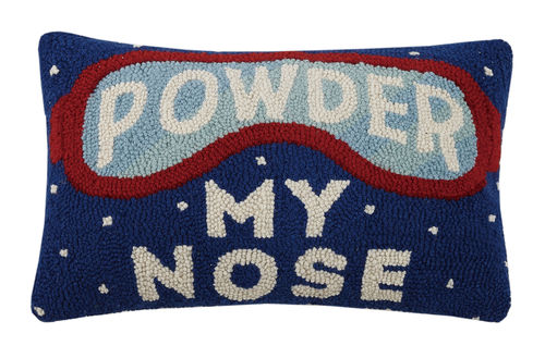 Powder my Nose, Peking, Hook Pillow