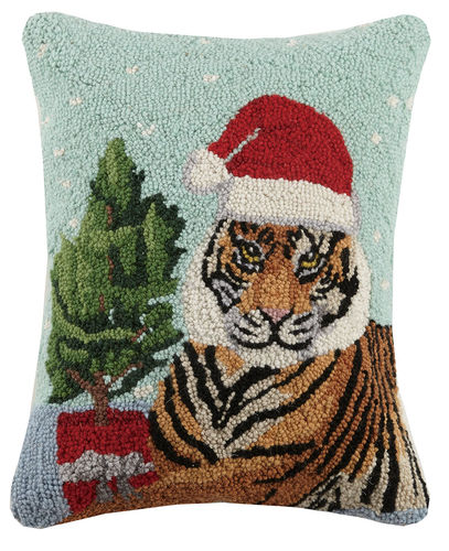 Tiger Santa, Hook Pillow, Holidays, Christmas, Peking