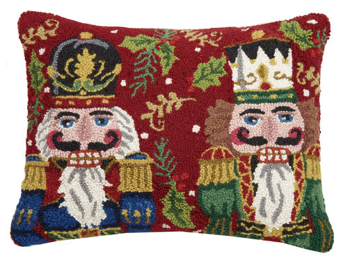 Nutcracker Duo, Hook Pillow, Holiday, Peking
