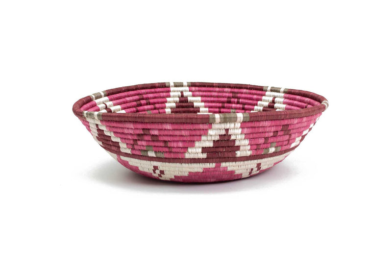 Jumbo Mauve Fig Bowl, Kazi Goods, Dashing Trappings