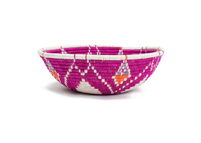 Jumbo Vivid Viola Bowl, Kazi Goods, Dashing Trappings