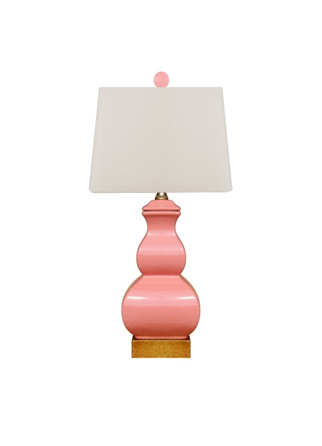 Pink Square Gourd Lamp, East Enterprises, Dashing Trappings