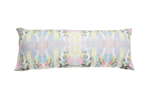 Lemonade Stand Linen Cotton Pillow - Dashing Trappings