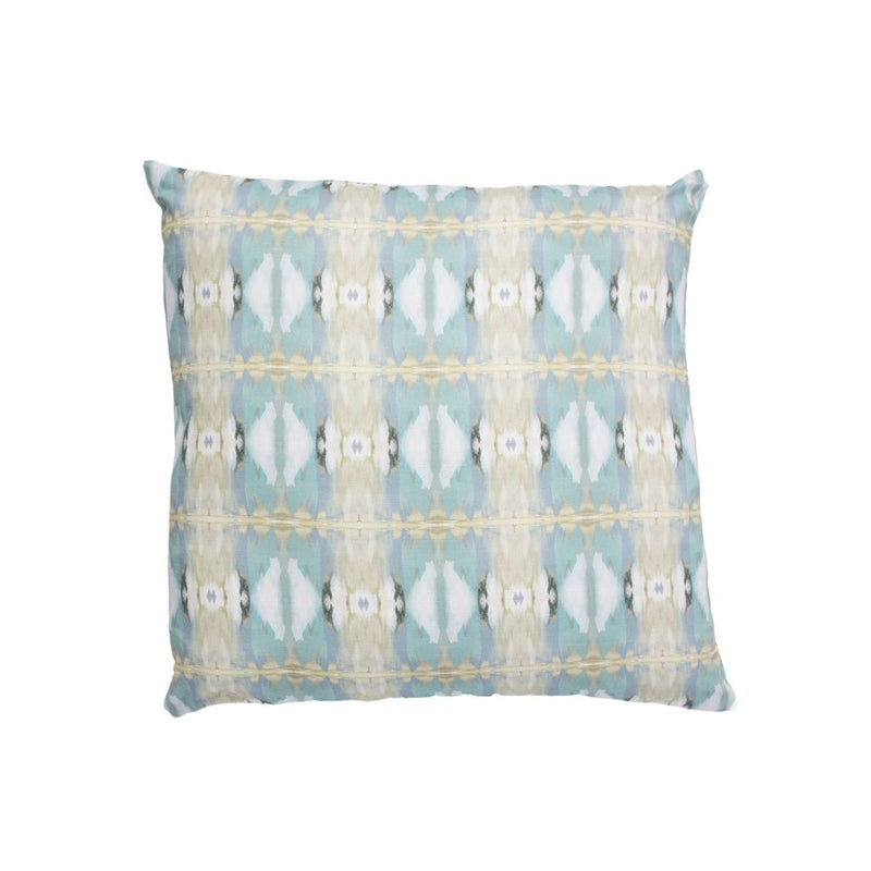 Little Chapel Light Blue Linen Cotton Pillow - Dashing Trappings