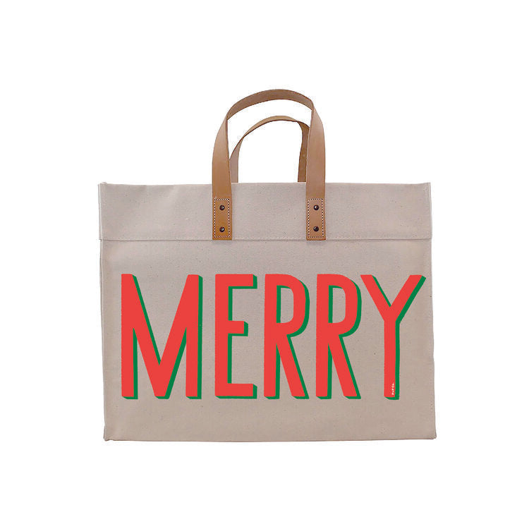Merry Bright Tote - Dashing Trappings