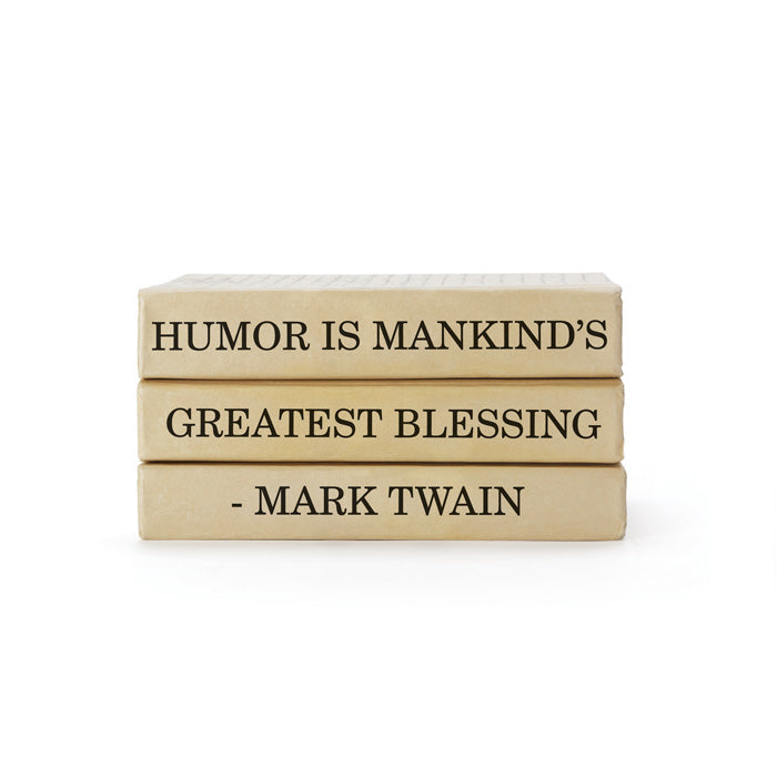 Mark Twain Quote Books Bundle - Dashing Trappings