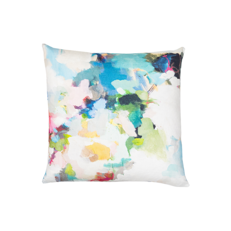 Park Avenue Linen Cotton Pillow, Laura Park Designs