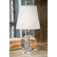 Crystal Mini Sphere Lamp by Regina Andrew - Dashing Trappings