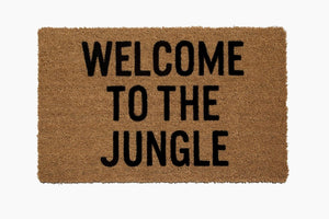 Welcome to the Jungle Doormat - Dashing Trappings