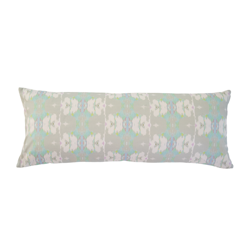 Butterfly Garden Stone Linen Cotton Pillow - Dashing Trappings