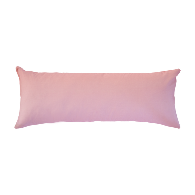 Signature Pink Linen Cotton Pillow - Dashing Trappings