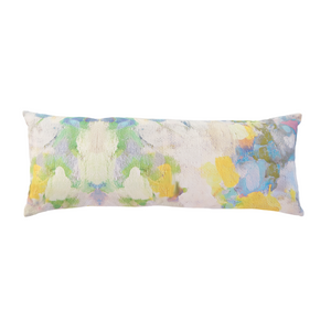 Butterfly Garden Linen Cotton Pillow - Dashing Trappings