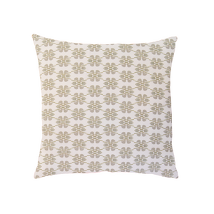 Clover Stone Linen Cotton Pillow - Dashing Trappings