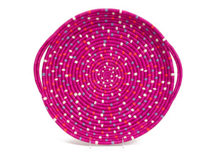 Speckled Vivid Viola Tray, Kazi Goods, Dashing Trappings