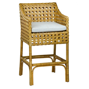 Basket Bar Stool
