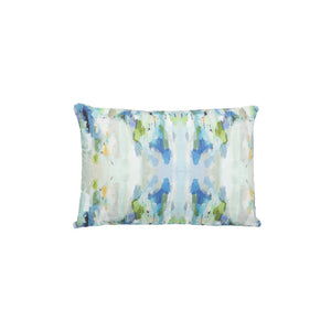 Wintergreen Sunbrella Pillow, Lumbar, Laura Park Designs, Dashing Trappings
