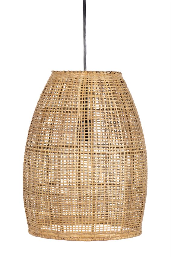 Hand-Woven Cane Pendant Lamp - Dashing Trappings