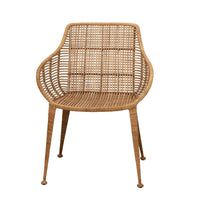 Hand-Woven Rattan Arm Chair, Bloomingville