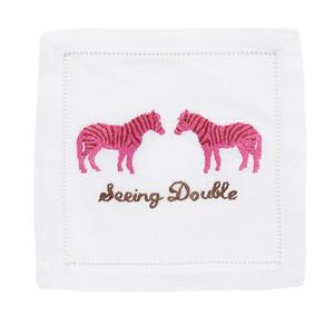 Seeing Double Cocktail Napkins - Dashing Trappings